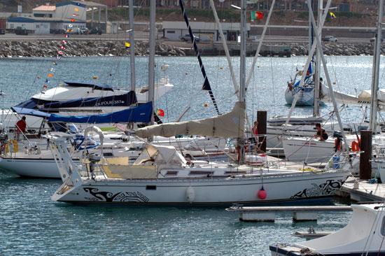 Amuitz au port de Porto Santo.