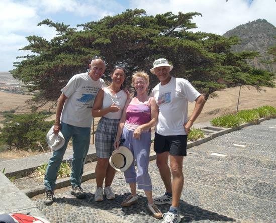 Ballade à Porto Santo avec Sergio et Domi.