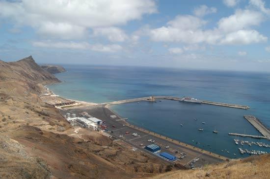 Port de Porto Santo.