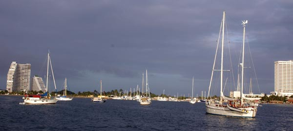 Vénézuéla, mouillage Porlamar île Margarita.