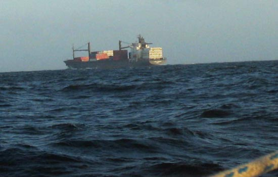 Cargo sans veille radar.