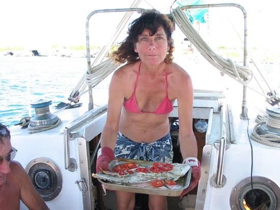 Béatrice la cuisinière de Troll.