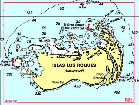 Los Roques sebastopol carte