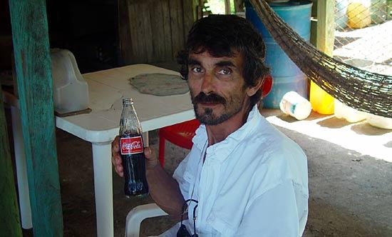 Thierry en manque de Coca.