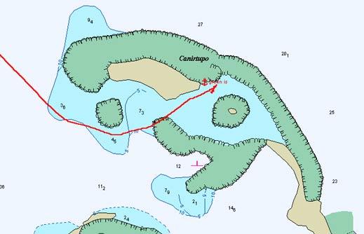 Carte green island san blas