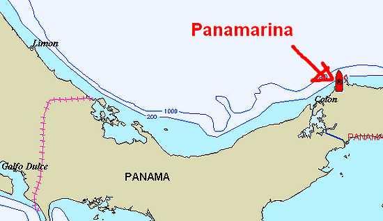 Carte Panamarina.