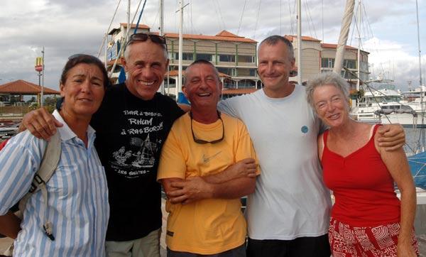 Retrouvailles amicales avec Sergio, Domi et Gégé