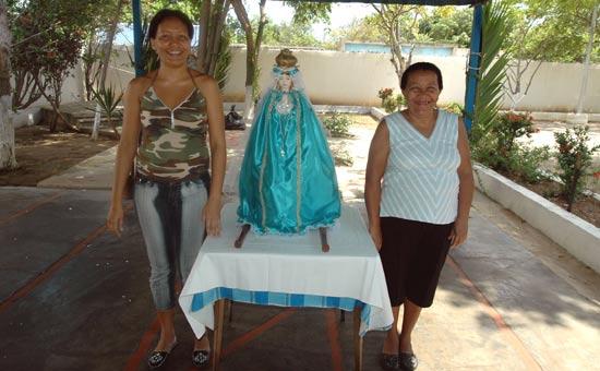 Chantier Navimca et la Vierge.