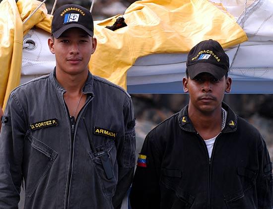 Douanes-garde côtes du Vénézuéla.
