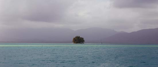 Green island (isla verde) san blas
