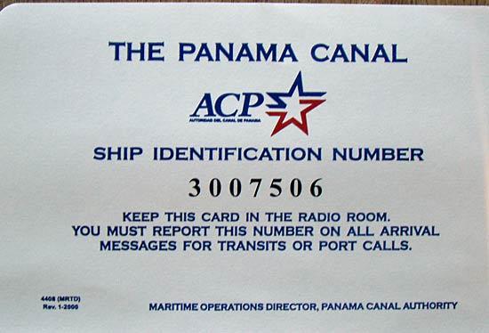 Visa pour le canal.