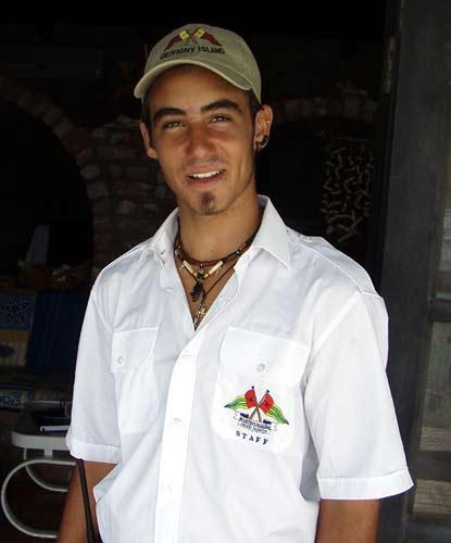 Alan Roura Dock Master.