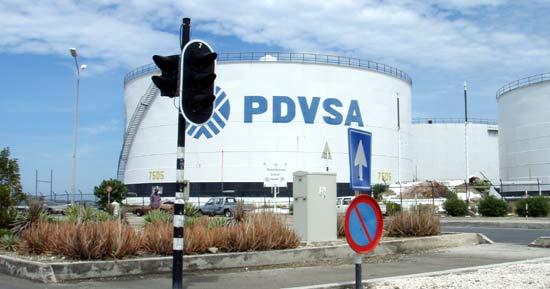 Raffinage du pétrole du Vénézuéla.