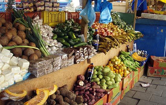 Fruits et légumes du Vénézuéla.