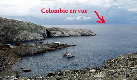 Colombie toute proche.