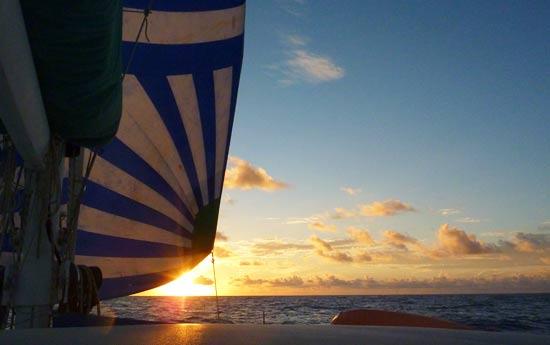 Pacifique amuitz route vers Marquises