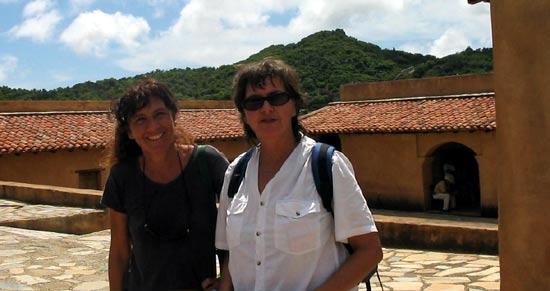 Béatrice et Susanne.