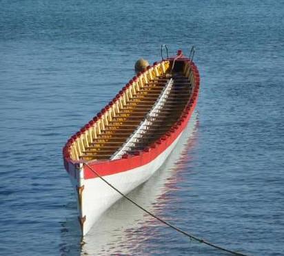Aviron de mer aux Samoa 48 rameurs…