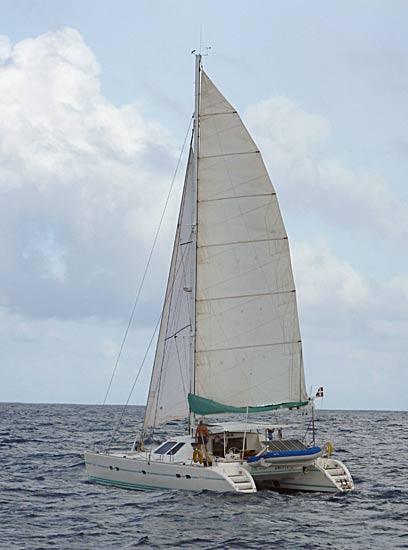 Amuitz en mer vers Fidji