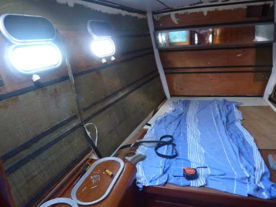 Refit cabine Lagoon 47.