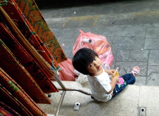 enfant dans la rue