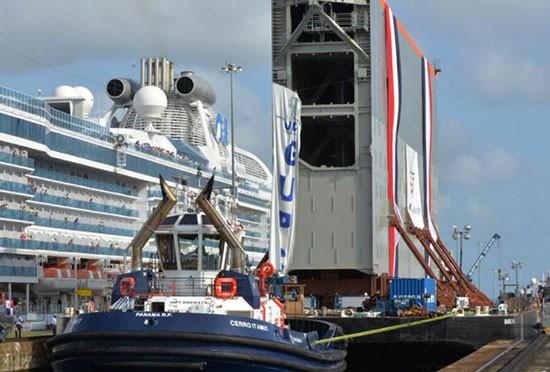 Le nouveau canal de Panama, bientôt ouvert.