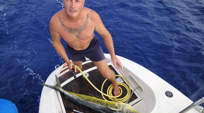 Pêche à la dorade Coryphène «Maï-maï» au large des Bahamas…