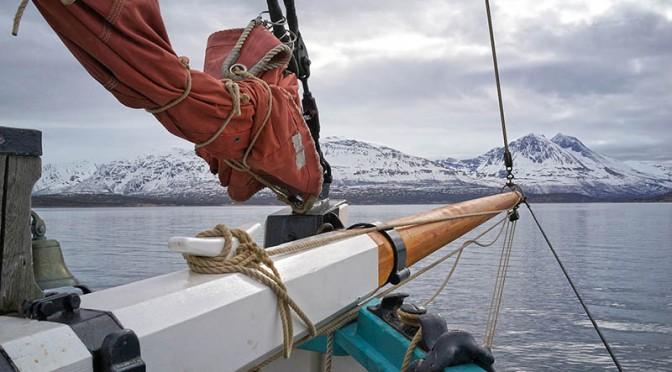 Navigation à bord de Fleur de Lampaul en Norvège.