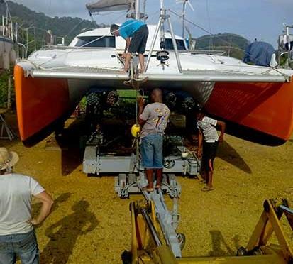 Panama, escale technique et marina.