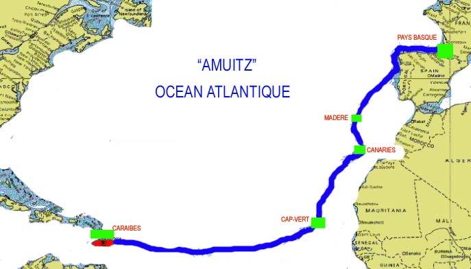 Traversée Atlantique Cap-Vert aux Caraïbes