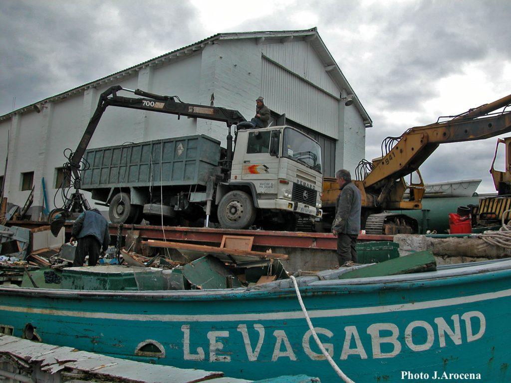 démolition Begnat Vagabond 6